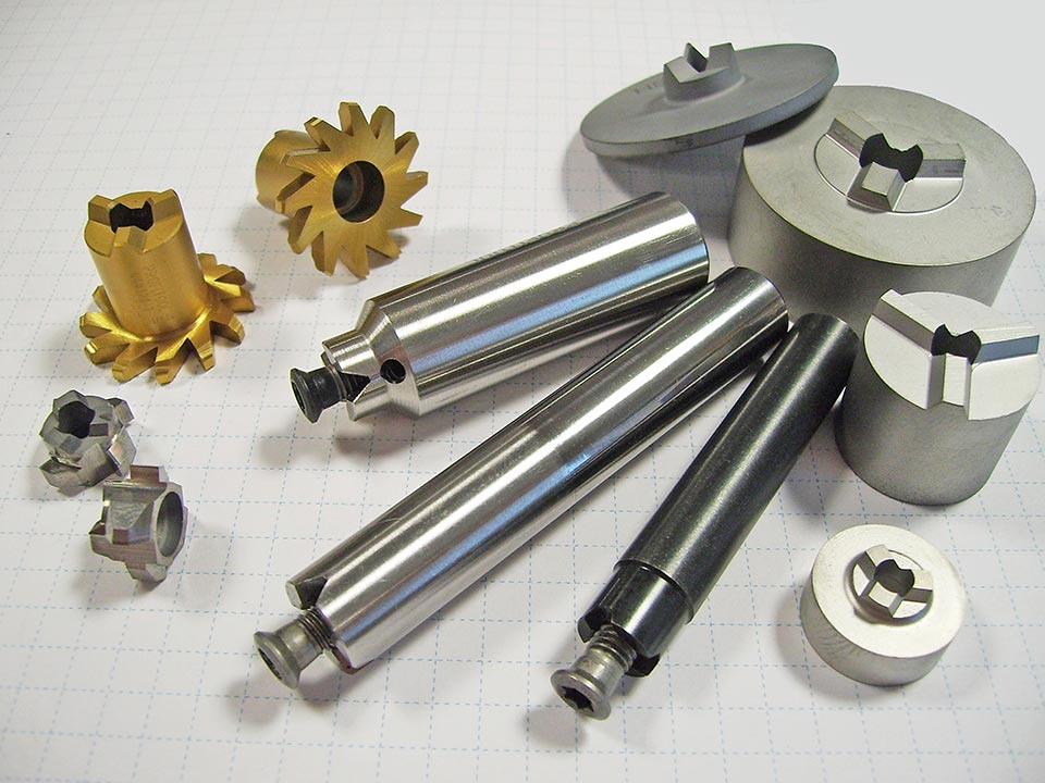 FM - milling und form milling All-metal, wear resistance, high teperature hardness, special drills, step drills, form drills